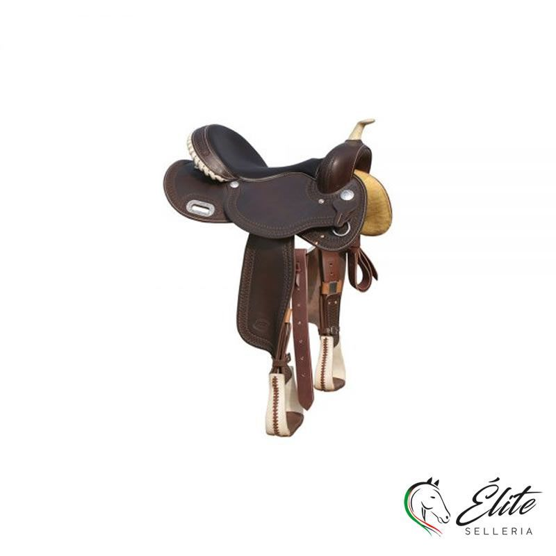 Monta western, Selle Western, Selle da Barrel - vendita online Sella Barrel Pool's Color 5020 - marca: Pool's - Selleria Élite del cavallo - Palermo - Sicilia- Italia